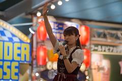 see you next time (kasa51) Tags: people woman mascotgirl octoberfest yokohama japan オクトーバーフェスト横浜 dirndl oktoberfest