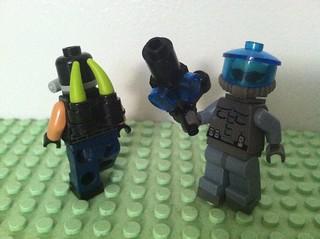 Venom Pack and Mr. Freeze