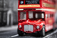Bus In The Rain (places_lost) Tags: macromondays souvenir
