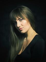 *** (Valentyn Kolesnyk (ValeKo)) Tags: pentax people portrait petzvale light look classic mood k3 ko120m