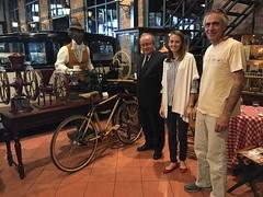 Koc müzesine teslim ettiğimiz fixie bisiklet