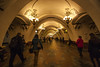 Beautiful Russian architecture (arju16) Tags: canon canoneos40d moscow russia arbatstreet streetphotography travel journey seating perspective wideangle lines converginglines dhrubajyotibhoktiari arju travelphotography mockba arbatskayametrostation arbatskyaya architecture tunnel