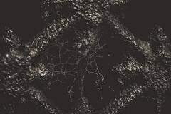 (C-47) Tags: blackwhite noiretblanc noirblanc noir black blackandwhite blackbackground texture art architecture artistic artistique architectural artists dark darkness darkfeelings flickr feel feelings spiderweb details dof depth darkcolors deep steel metal rust closeup macro objectmacro