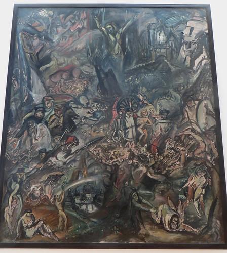 """""""La Guerre"""", 1915, Othon Friesz (Le Havre, 1879-Paris, 1949), Musée de Grenoble, Grenoble, Rhône-Alpes-Auvergne, France."""