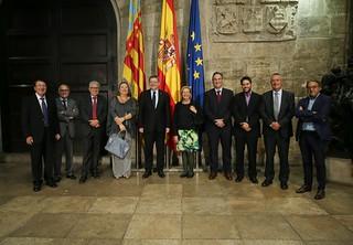 El president Ximo Puig recibe a la Fundación Levante Unión Deportiva 17/10/17