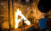 FIRESTARTER (TheGhostVaporVision) Tags: fire firepainting fireart art witch model shoot outdor modelshoot beautiful beauty pretty sexy women girl falls ruins carbidewilsonruins gatineau park national canada spooky bridge water leafs photography ghostvaporvision