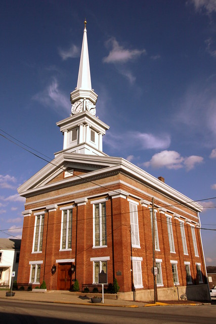 Town Clock Church - New Albany, IN