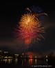 "Fireworks (jimgspokane) Tags: fireworks nightshots spokanewashingtonstate spokaneriver reflections ""nikonflickraward"" otw"