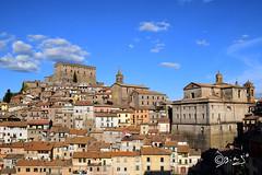 Soriano nel Cimino - Italy (Biagio ( Ricordi )) Tags: viterbo lazio italy borghi borgo chiesa campanile medievali sorianonelcimino