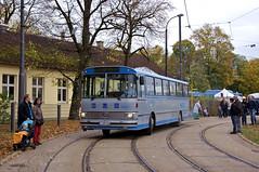 Der Busunternehmer Hengl kam mit seinem Setra S 40 ES ins Museum (Frederik Buchleitner) Tags: 10jahremvgmuseum bus eihr910h hauptwerkstätte hengl kässbohrer mvgmuseum munich münchen omnibus s40es setra