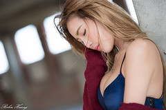 DSC_7466 (Robin Huang 35) Tags: 黃艾比 abbie 彰濱廢墟 彰化 廢墟 內衣 underwear jkf 人像 portrait lady girl nikon d810