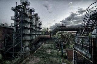 old Factory - Landschaftspark Duisburg - HDR
