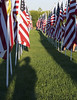 9/11 Shadow Salute (AmyEHunt) Tags: memorial tribute dundee flags bagpipe people salute firstresponder 911 911tribute