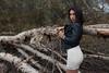 Rebecca - Parco naturale del Sesia (Pasquale D'Anna) Tags: rebecca ragazza modella donna shooting sesia canon ottobre natura bellezza albero minigonna giaccadipelle
