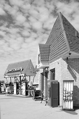 The Triangle Gas Station (dangr.dave) Tags: architecture downtown gasstation historic scurrycounty sinclair snyder texas trianglegasstation tx