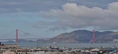 Explorer of the Seas - Pacific Coastal Cruise (Jasperdo) Tags: exploreroftheseas royalcaribbeancruiseline cruise cruising sanfrancisco california cruiseterminal pier27 goldengatebridge bridge