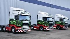 PO67 XWJ (Martin's Transport Photography) Tags: scania r450 truck wagon lorry vehicle haulage commercial transport eddiestobart appleton cheshire nikon nikond7200 freight