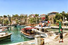 Antalya Limanı (Akcan PhotoGraphy) Tags: antalya liman manzara turkey tekne boat