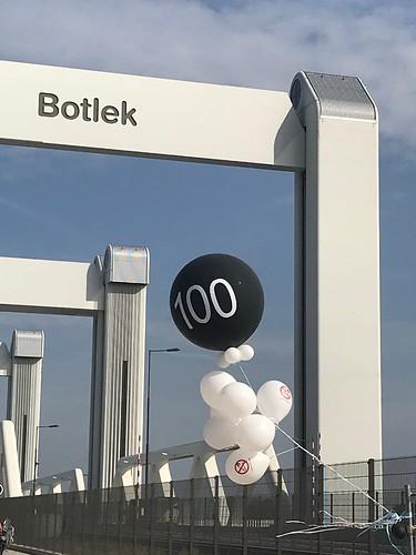 Cloudbuster Rond 100ste Storing Botlekbrug