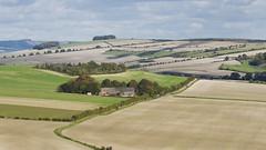 All the Harrowed Fields (stevedewey2000) Tags: wiltshire salisburyplain tamron150600 landscape fields harrowed autumn downs valeofpewsey farmhouse track oldroad