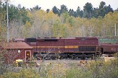 Two for two (AndyWS formerly_WisconsinSkies) Tags: train railroad railway railfan duluthmissabeandironrange dmir missabe ironrange canadiannational cn emd sd403 locomotive tunnelmotor