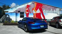 Porsche GT4 (bbossingg) Tags: porsche gt4 cayman sapphire blue pccb 981 2016