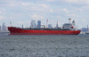 BRISTOL TRADER in New York, USA. October, 2017 (Tom Turner - NYC) Tags: anchored anchorage bay red tanker waterway water channel bristoltrader tomturner statenisland bigapple newyork unitedstates usa nyc marine maritime port pony harbor harbour transport transportation crimson scarlet