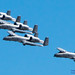 Four 190th FS A-10 Warthogs in Widescreen