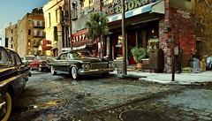 Street Corner 4 (gpholtz) Tags: diorama miniatures 118 diecast 1961 imperial