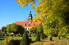 Schlosspark Diesbar-Seußlitz (antje whv) Tags: sachsen schlosspark garten herbst autumn fall garden schloss diesbarseuslitz castle park baum tree turm