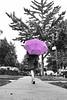 Rainly Brooklyn (katiegodowski_photography) Tags: bnw blackwhite blackandwhite monochrome color umbrella outdoor people sidewalk brooklyn adventures amateurs amateur