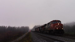 CN 2262 Splits the Signals at La Tarte, QC (MaineTrainChaser) Tags: cn trains train west westbound quebec new brunswick 473