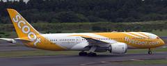 Boeing 787-8 9V-OFI (707-348C) Tags: tokyonarita rjaa nrt boeing airliner jetliner boeing787 b788 9vofi passenger flyscootcom scoot tgw dreamliner tokyo narita