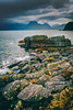 Coastline near Elgol (Davide Seddio) Tags: scotland uk scottishhighlands isleofskye sea coastline rock cloudsky elgol
