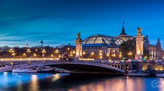 Combo Pont Alexandre III & le Grand Palais