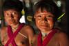 Programa de Erradicação da Oncocercose nas Américas - Terras Yanomami (Secretaria Especial de Saúde Indígena (Sesai)) Tags: outubro 2017 oncocercose erradicação dseiyanomami indígenas sorriso meninas menina retrato yanomami roraima pinturacorporal adorno