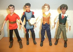 The boys of the bunch (Meritre) Tags: beautyandthebeast beast gaston elenaofavalor gabe mateo minidoll