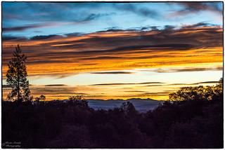 Sunrise in the Sierras