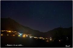 Stelle e panorama (bartric - Bartolomeo) Tags: stelle stars panorama landscape supino nikond5100 notturno bartolomeo bart cielo sky