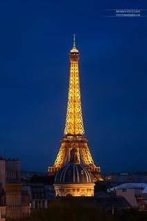 Tour Eiffel & Institut de France, Paris