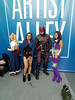 NYCC 2017 10-7-17 (23) (Comic Con Culture) Tags: newyorkcomiccon nycc newyorkcomiccon2017 nycc2017 nyc javitscenter newyork newyorkcity raven daredevil starfire marvel netflix cosplay costume dc