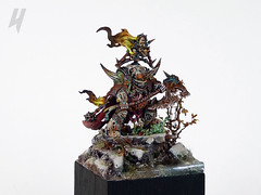 Lord of Contagion (Uruk's Customs) Tags: games workshop warhammer wh40k dark imperium death guard lord contagion nurgle chaos space marines csm heretic astartes diorama