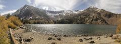 Virginia Lake panorama (Patrick Dirlam) Tags: trips easternsierra virginia lake panorama mountains snow fall colors