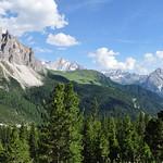 Route du passo di Sella, Canazei, Val di Fassa, province de Trente, Trentin-Haut Adige, Italie. thumbnail