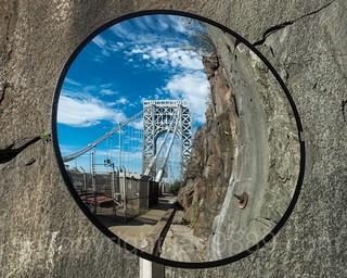 New Jersey Tower of the George Washington Bridge, Fort Lee NJ