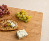 Grilled bread with olive oil, grapes and Blue d'Auvergne. (annick vanderschelden) Tags: grapes fruit crimson purple cluster color droplets water bowl food tablegrapes yeast wood whitegrapes cheese bleudauvergne french bluecheese auvergne france cowsmilk appellationdoriginecontr™le blue molds curd taste veins strong pungent creamy penicillium penicilliumroqueforti snacking dressing bread grilled oliveoil herb rosemary belgium appellationdoriginecontrôlėe