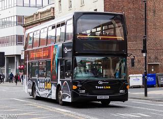 Go North East 6127 GX03SVA: Scania N94UD/East Lancs