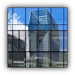 Série La Défense: n° 10 (jldum) Tags: architecture art artist artiste artistic architect architecte building abstract abstrait sony ilca99m2 gratteciel bâtiment ciel ville fenêtre reflets reflections
