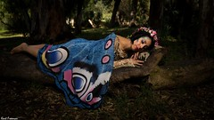 Gia Carol (Kent Freeman (Off Line)) Tags: canon eos 5d mark iii ef 24105mm f4 l is ii usm streaklight 360 beauty dish flashpoint forest fairy portrait