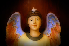 Star Child (David Basiove) Tags: quebec montreal religion chapel starchild grace catholic cathedral saintjoseph angel church worship cherub